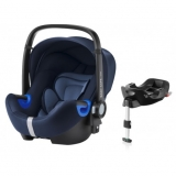 ROMER Baby-Safe i-Size Bundle Flex 2018 Moonlight Blue