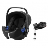 ROMER Baby-Safe i-Size Bundle Flex 2018 Mystic Black