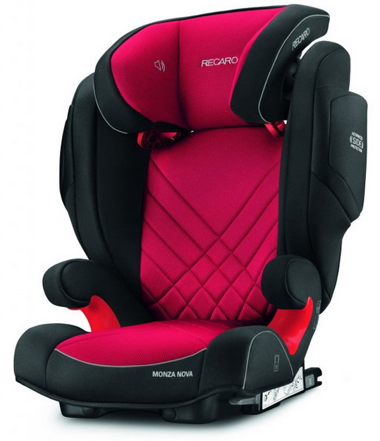 RECARO MONZA NOVA 2 Seatfix 2019 Racing Red