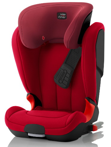 ROMER KIDFIX XP Black Edition 2018 Flame Red