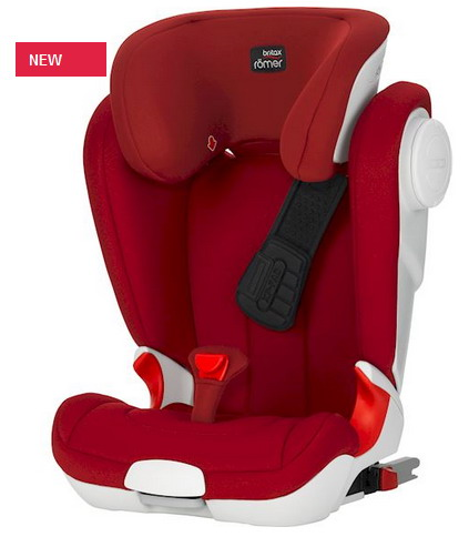 ROMER KIDFIX II XP SICT 2018 Flame red